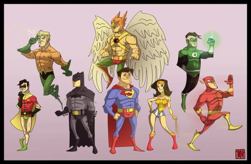 SuperFriends by Johnny Cheung