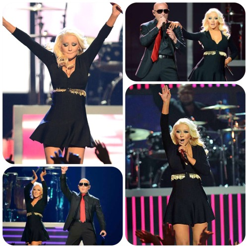 Xtina & Pitbull | Billboard Music Awards performing 'Feel This Moment'