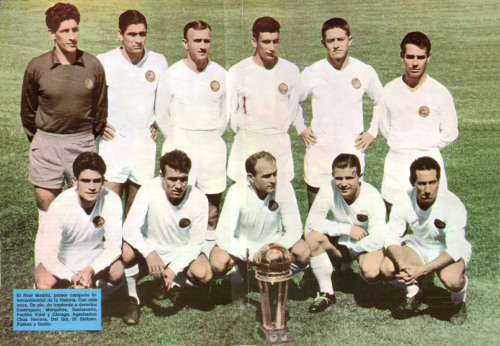 futbolintellect:  The Real Madrid side which won the first Intercontinental Cup in 1960.