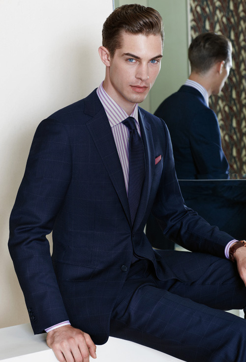 mensfashionworld:  Ermenegildo Zegna Made to Measure S/S 2013 lookbook