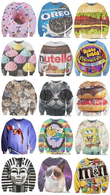 metaphysicallyexisting:  These are the best sweatshirts ever