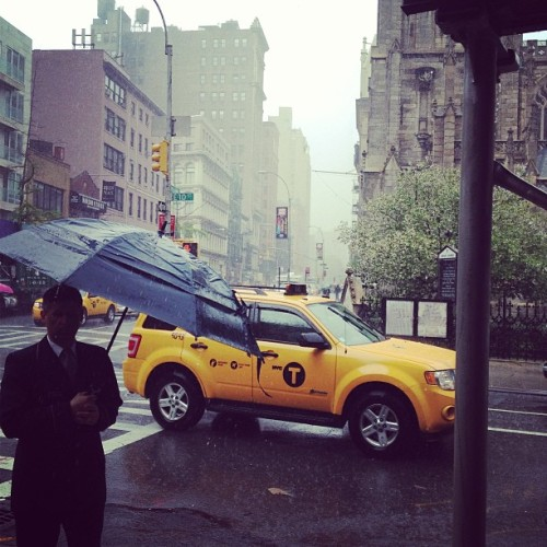 Rain rain go away. Come back another day. #lullabye #NYC