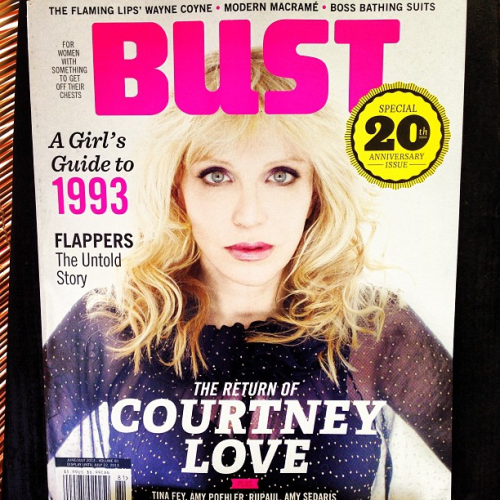jenniewoodanddid:  Love Returns.   CLOVE on the cover of June / July 2013 Bust. 2013 Summer Tour dates are being announced here. I'll see you there.