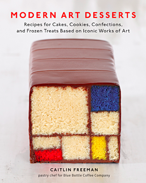 artnet:  Modern Art Desserts We sat down with Caitlin Freeman, pastry chef and author of Modern Art Desserts: Recipes for Cakes, Cookies, Confections, and Frozen Treats Based on Iconic Works of Art. Read the interview.