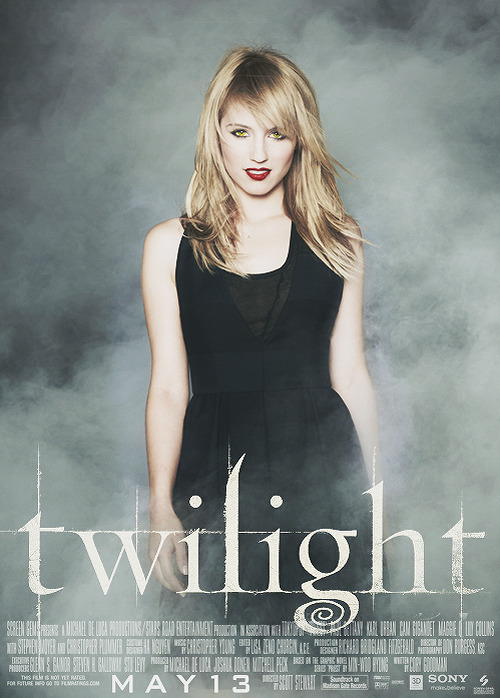 If I Had Cast Twilight: Dianna Agron as Tanya (Denali)