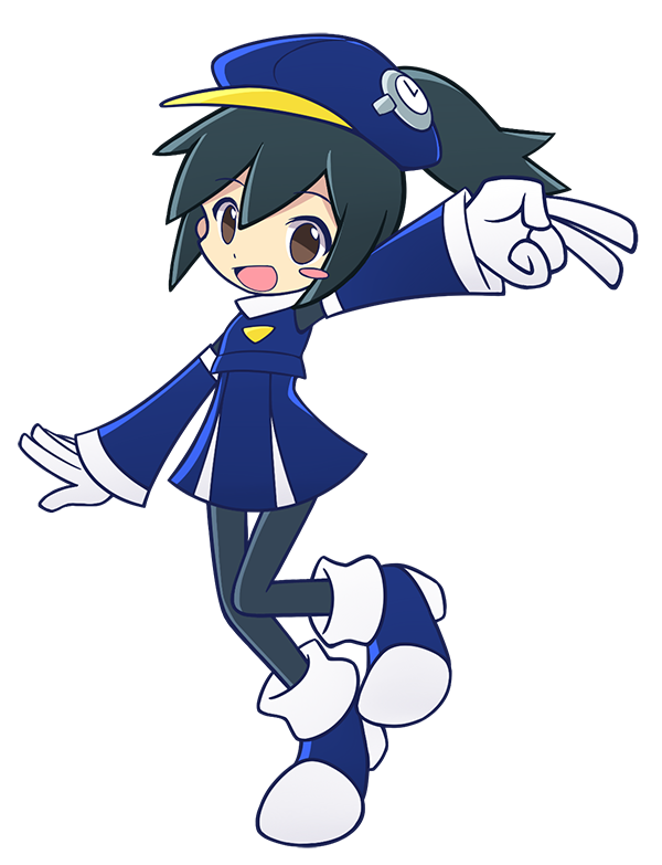 "Ehehe forgot to write a profle for my puyo oc ;u;  Name: Abriella K. Avvenire (known as ""Kei"" in short) Spell theme: Time-based As she's from a era different from ours, she can be quite ignorant and over-confident about her knowledge about the current era as it's ""past"" for her. She tends to forget what she going to says and making troubles to the people around her. Creator of the experimental ""time travelling device"" that enables time travelling by collecting energy generated from the puyo matches. Seems so have a reason to come to the past…"