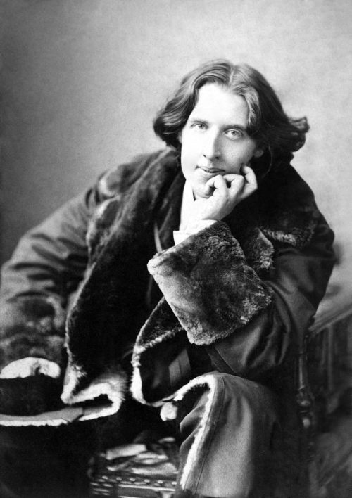 """You can never be overdressed or overeducated."" ~ Oscar Wilde"