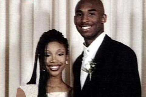 littleorphanammo:  Brandy and Kobe Bryant WENT TO PROM TOGETHER. Is this blowing your mind? Because it's blowing mine.