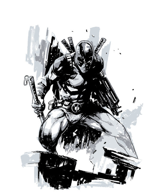 Deadpool by PhillieCheesie