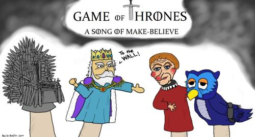 Game of Thrones: A Song Of Make Believe