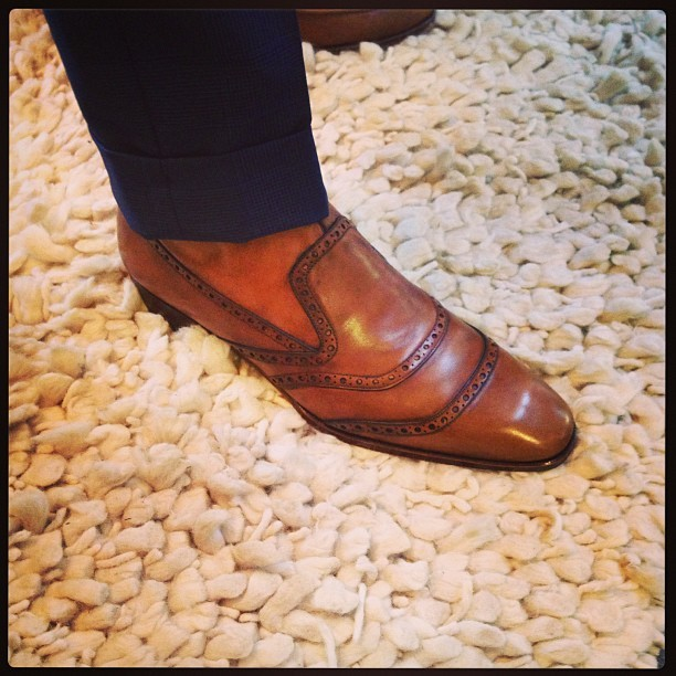 hadleighs:  Fall boot samples are arriving!!! #fall2013 #hadleighs #hadleighsbespoke #hman