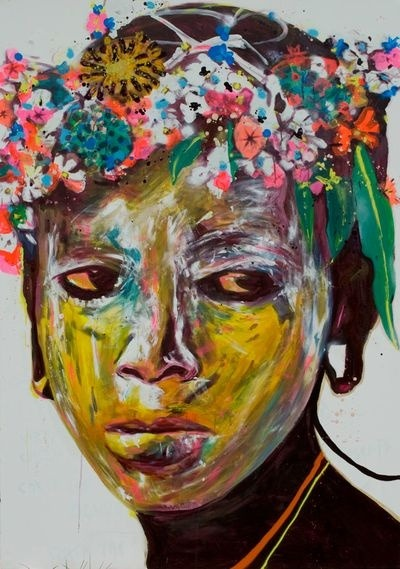 acqua-di-fiori:  Gorgeous painting from Brazilian graffiti by Ramon Martins.