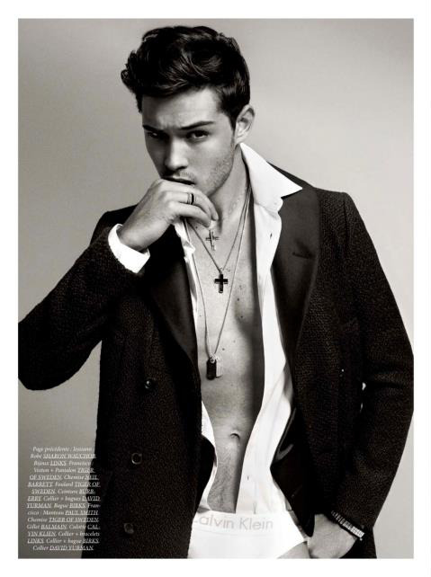 ohmyfrancisco:  Francisco Lachowski by Sylvain Blais. Dress to Kill Magazine.