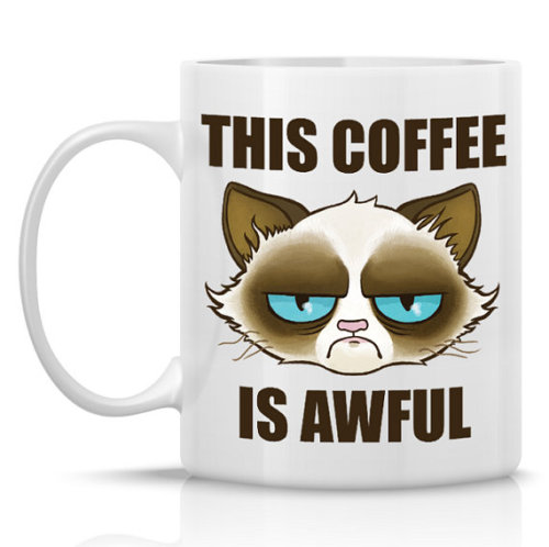 Grumpy Cat Hates Your Coffee…
