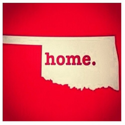 uofoklahoma:  Our hearts go out to those affected by today's tragic storms. We will come together. We are resilient. We are Oklahoma strong.  Second home, at least for another 4 years.