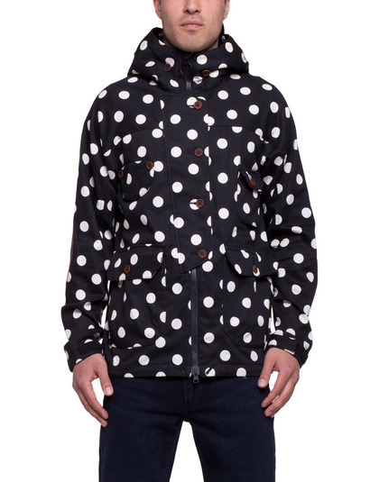 streetstylemarket:  Cash CA Dot Tech Jacket Black White | SOTO Berlin