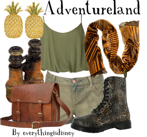 Adventureland- Disneyland by everythingisdisney