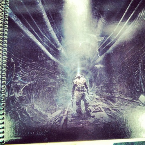 The new Game planner cover is amazing. #metrolastlight #metro2033 #gamestop