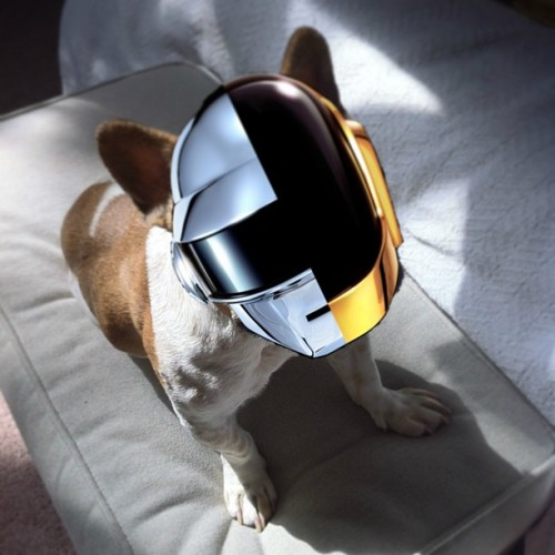 Shout out to my French homies #daftpunk for putting me da new album!