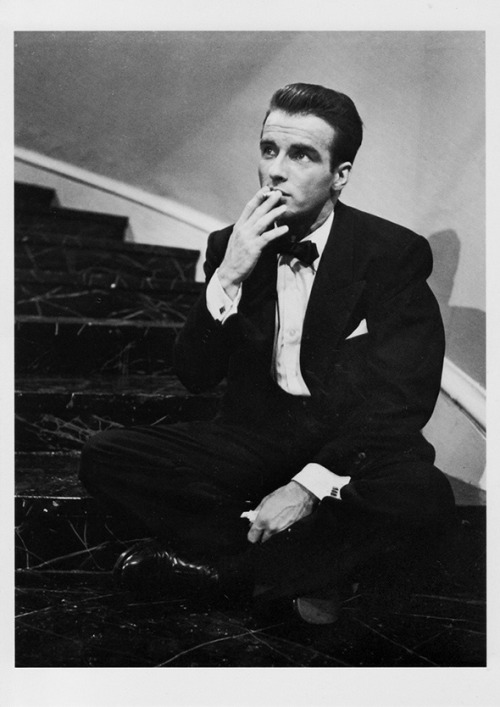 Montgomery Clift circa the 1950s.