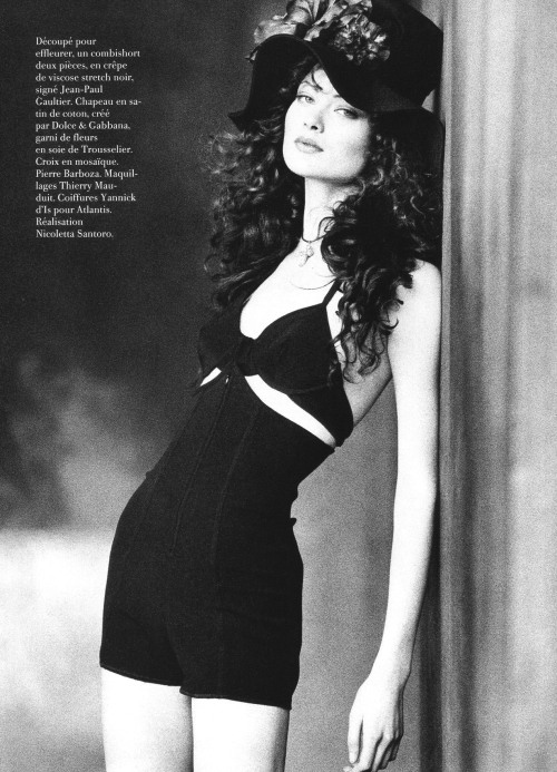 timeless-couture:  Shalom Harlow for Vogue Paris April 1993