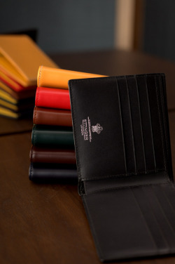 Wallets by Ettinger at the Armoury