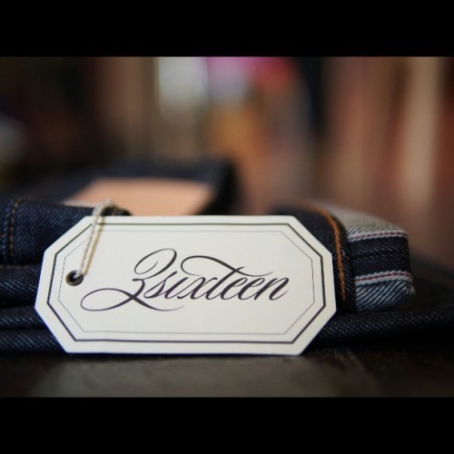 3sixteen Raw Denim| Available in-store and online at www.denimbaronline.com