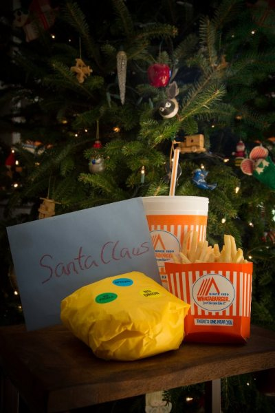 You're welcome Santa, Love, A Texan.