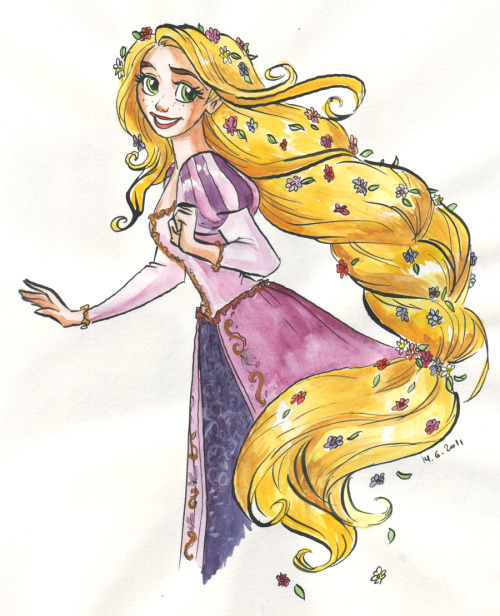 artoftangled:  Delicious hair by ~TaijaVigilia