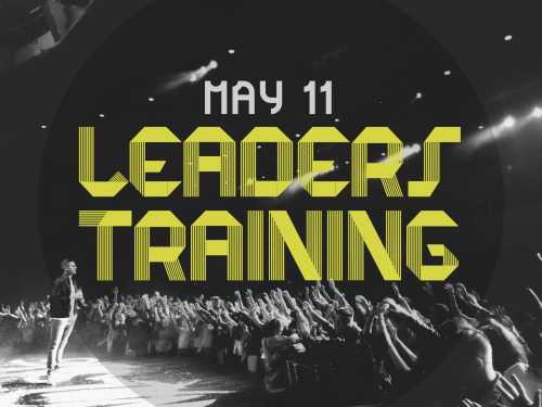 If you are a UG Leader or interested in becoming a leader, May 11th is a day you will NOT want to miss! Come join us at 9am at Puyallup Foursquare for our UG Leader Training! Click here to RSVP!