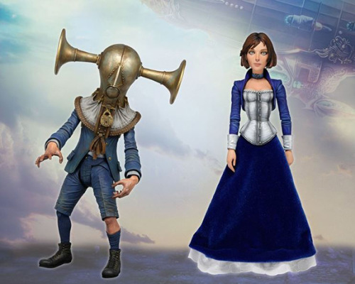 "You can pick up these ""Bioshock Infinite"" figures this January."