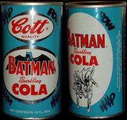 cryptofwrestling:  Batman Sparkling Cola (1966)