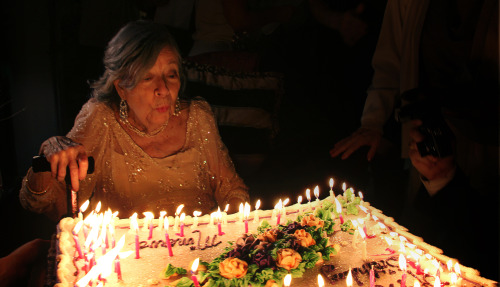 My grandmother's favorite photo from her 90th birthday party. Love you, Bes! You are sharper than ever! Long live our matriarch!