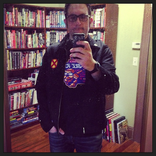 I put together an X-Men jacket. It's as close to cosplay as I get.