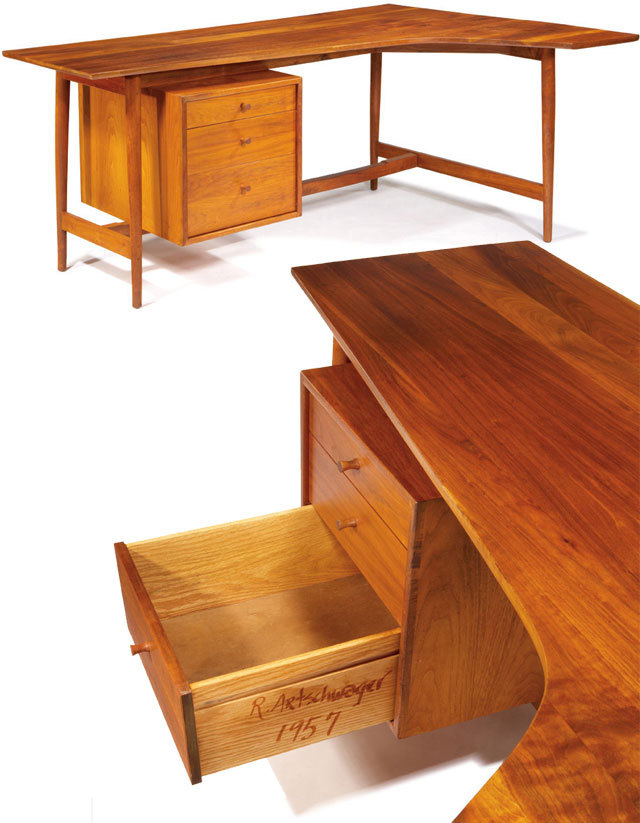 Did you know that artist Richard Artschwager made furniture? Desk (1957), (via In Search of Unexpected Design Treasures)