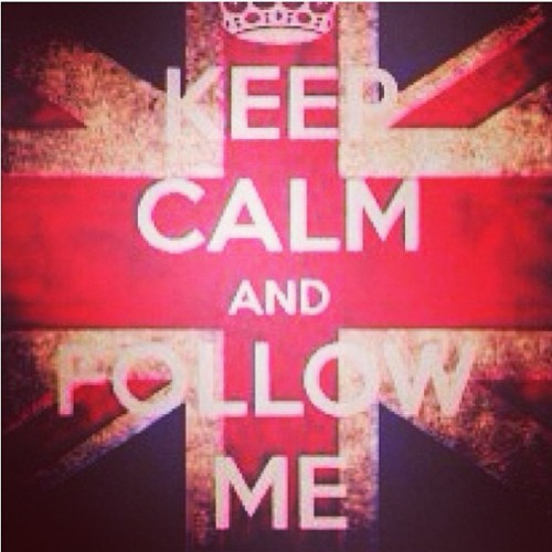 Keep calm and follow me #follow #fff #followme #f4f #fashion #favorite #photooftheday #porusski #iphonesia #instamood #keepcalm #calm #fashion #style #tagsforfollow