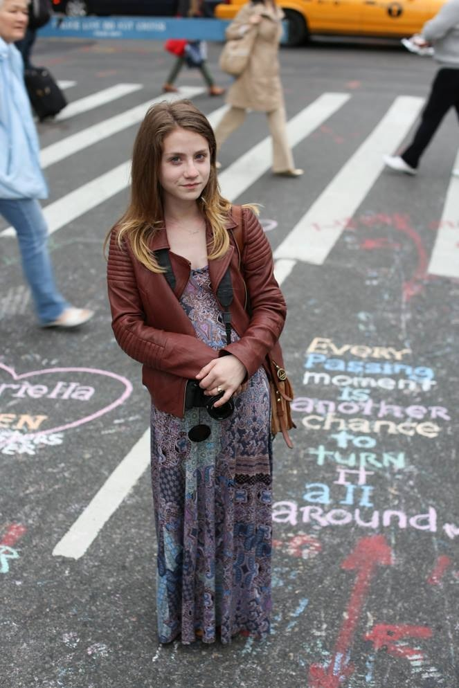 "humansofnewyork:  ""I tend to click well with quiet people because they let me talk a lot."""