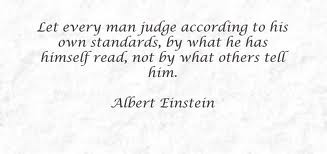 Judgment quote