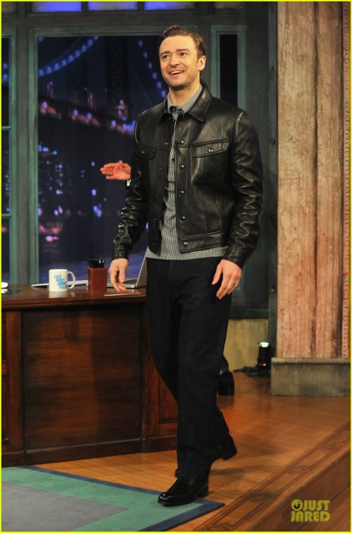 Justin on Jimmy fallon