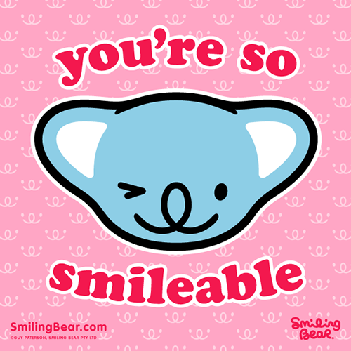 You're So Smileable http://bit.ly/SB_SBLE