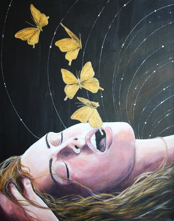 abstraire:  Louise Mcnaught - You Give Me Butterflies