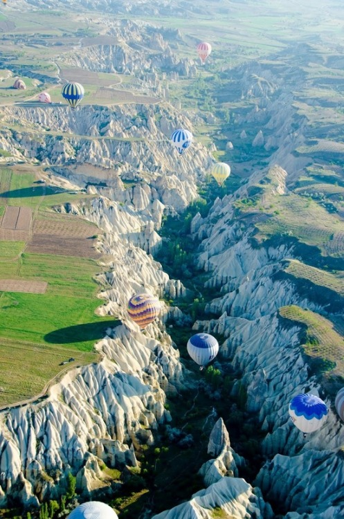 vurtual:  Hot air balooning Cappadocia (by theroadforks)