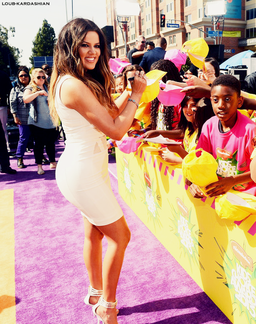 Khloe At Nickelodeon's 26th Annual Kids' Choice Awards In Los Angeles, CA (March 23rd, 2013)
