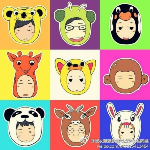 runningmanfan:  Running man animal compilation^^ [cr: on pic]