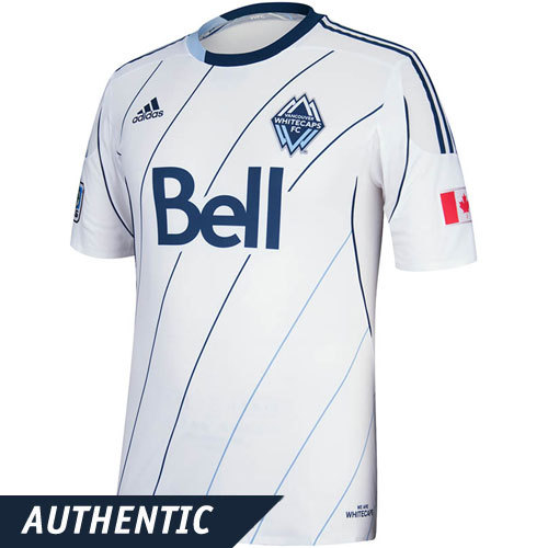 thelogocast:  Here's a look at the new Vancouver Whitecaps white kit