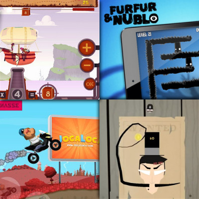 Starling games on mobile round-up: Math Mathews Furfur and Nublo: iOS, Android Gérard jeu de scooter The Twist