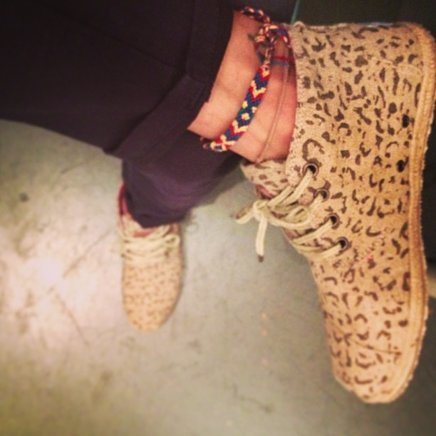 carefullymisfitted:  ahrealvillain:  Today's kicks #Leopard #TOMS #villain #oneforone  :D I want these