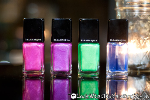 battylacquer:  New blog post up! Featuring the new Illamasqua Paranormal Collection