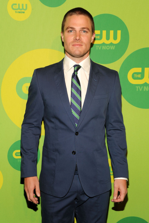 Stephen Amell || CW Upfronts at The London Hotel in NYC on May 16, 2013