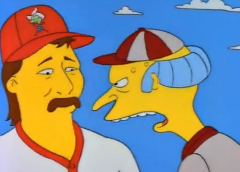 sitcomfamily:  MATTINGLY! Get rid of those sideburns!